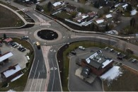 Willits Lane East Valley Road Roundabout